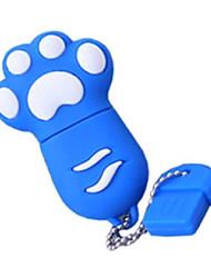 AJINQIS Cute Cat's Paw USB Flash Drive 8GB