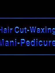 Hair Cut Waxing Advertising LED Light Sign