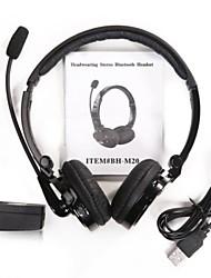 bh-m20 bluetooth sans fil pour casque stéréo sur l'oreille pour l'iphone samsung ordinateur portable pc portable