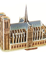 magic puzzel Notre Dame de Paris model 3d puzzel voor kinderen en volwassen puzzel (39pcs)