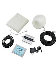 "1,5 ""-LCD-2100MHz Handy Signal Booster Verstärker / Abdeckung 500 Quadratmeter-Grau"