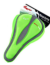 CHAUNTS 3D Double Thickening Memory Sponge Green Bicycle Saddle Seat Cover