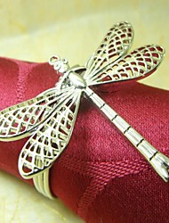 Dragonfly Napkin Ring,Metal, 4CM, Set of 12,