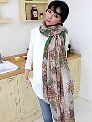 Mlle. coréen coton et lin écharpes de fils de bali des femmes