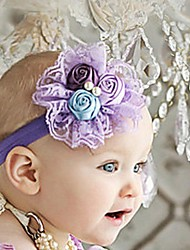 Children's Bloom Flowers Elastic Band Headband Hairband