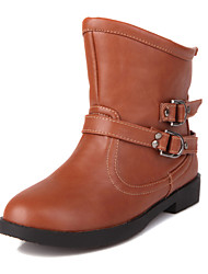Women's Flat Heel Ankle Motorcycle Boots(More Colors)