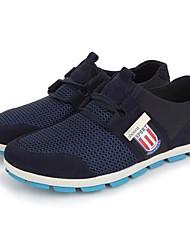 conforto sapatos de salto plana dos homens de couro / nylon dividir sapatos comuns (mais cores)