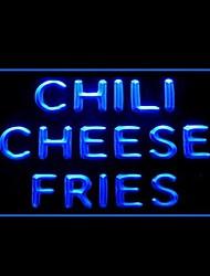 Fries Pimenta Queijo Publicidade LED Sign