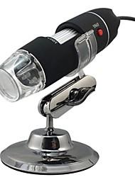 usb microscopio digital - zoom 800x, resolución 640x480, 8 leds