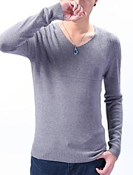 Men's Fashion Slim Pullover Long Sleeve Jumpers