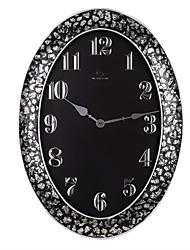 "26.4 ""Classic H style simple Crack bord Polyrésine Horloge murale"