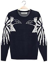 Men's Japanese Bodycon Long Sleeve Knit  Sweater