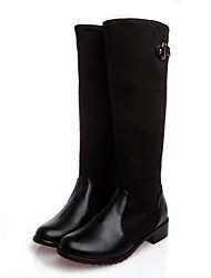 Women's Shoes Round Toe Low Heel Knee High Boots More Colors available