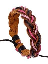 Le nouveau bracelet en cuir unisexe réglable