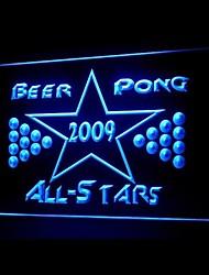 estrelas beer pong publicidade levou sinal de luz