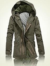 il nuovo cotone cappotto imbottito nel lungo tratto di giovani studenti confortevoli imbottita con tasca fodera in cotone.