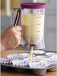 Cake Batter Dispenser With Measuring Label, 4-Cup