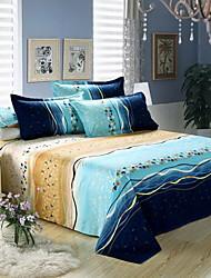SUOFEIYA Cotton Bedding Four Piece Set