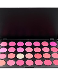28 professionnelle couleur blush face palette de maquillage
