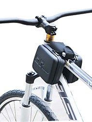 anti-colisão quadro de bicicleta até à prova de água eva saco de tubo