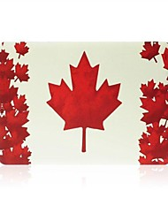 Fashion Maple Leaf Pattern Flip-open Protect Case for 11.6 inch Macbook Air