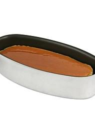 hong yuan ® liga de alumínio queijo oval antiaderente molde do bolo