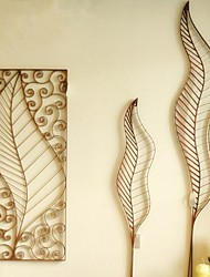 Metal Wall Art Wall Decor The Art Form Of Leaves Wall Decor Set Of 3