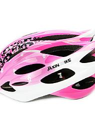 Casque Vélo (Blanc / Rose dragée , PC / EPS)-de Homme - Cyclisme Montagne / Route / Half Shell 18 Aération M : 55-59cm / L : 59-63cm