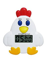 Electronic Magnetic Cute Digital Electronic Chicken Digital Kitchen Timer