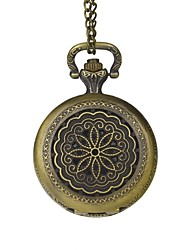 Gift Groomsman Groom Classical Motifs Pocket Watch  Bronze Pendant With Gift Box