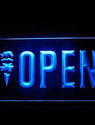 Открыть IceCream Реклама светодиодные Вход