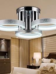 Montage de Flujo ,  Moderno / Contemporáneo Cromo Característica for LED Metal Sala de estar Dormitorio Habitación de estudio/Oficina