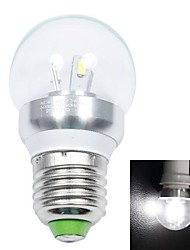 White Light LED Light Bulb (AC 85-265V) E27 3W