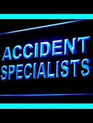 Специалисты аварии реклама привело свет знак