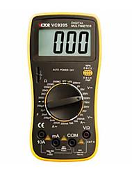 VICTOR VC9205 Digital Mulitmeter LCD Display AC DC Voltmeter Resistance Ohmmeter Testing Tool