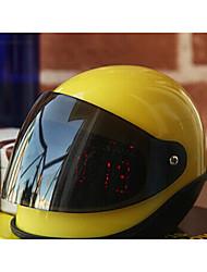 "4 ""Helmet Shaped novidade Snooze Alarm Clock"