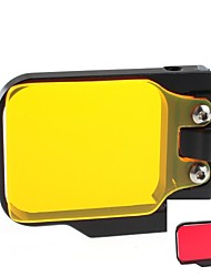 Gopro Accessories Smooth Frame For Gopro Hero 3 / Gopro Hero 3+ Aluminium Alloy Red / Yellow