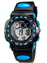 Children Multifunction LED Digital Sports Wrist Watch 30m Waterproof