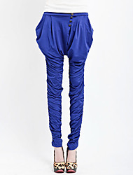 LW Frauen lösen Stretch Slim-Harem Pants (Royal Blue)