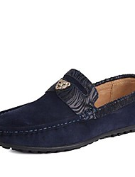 Suede hombres planos del talón de la Plaza de los holgazanes Toe Zapatos con cordones de los zapatos Shoes (más colores)