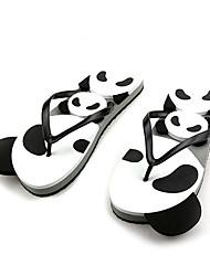 Quiksilver Women's Cute Panda Beach Flip Flops