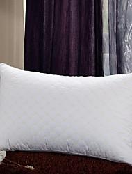 shuian® edredom 100% algodão bordado retangular saudável travesseiro ventilação