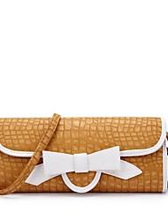 Vizon Ladies'  Casual PU Bowknot Shoulder Bag