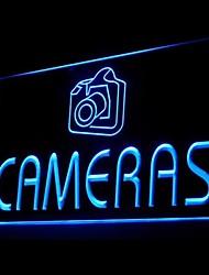 камеры целевой рекламы привело свет знак