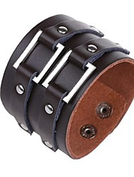 The New Punk Lederen Armband