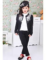 Mode Joker Paillettes Costumes fille (y compris shirt, manteau, pantalon)