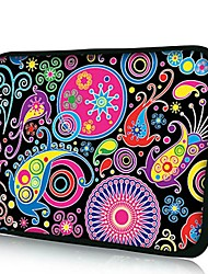 Elonno Undersea World Neoprene Laptop Sleeve Case Bag Pouch Cover for 10'' Dell HP iPad1/2/3/4/5