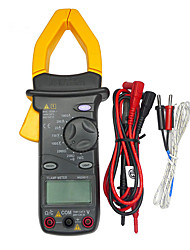 MASTECH MS2001C 3 1/2 Digital Clamp Meter fit Backlight AC DC Ohm Amp Volt Tester