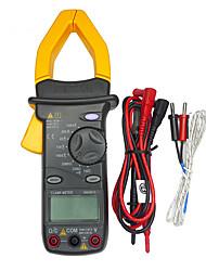 MASTECH MS2001C 3 1/2 Digital Clamp Meter fit Backlight AC DC Ohm Amp Volt Tester