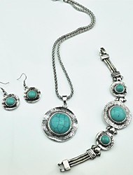 Jewelry-Necklaces / Earrings / Bracelets & Bangles(Alloy)Party / Daily Wedding Gifts